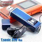 Transcend MP3プレーヤー T.sonic 320 4GB