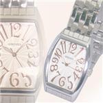 ジョルジュレッシュ 紳士 3針メタル腕時計 GR-14001-04 シルバー(PG) 画像1