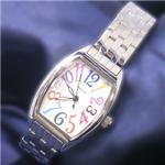 ジョルジュレッシュ 婦人 3針メタル腕時計 GR-14002-05 ホワイト(カラー) 画像1
