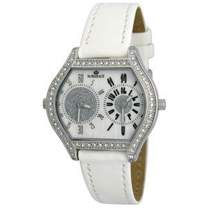 ST.MAREGE(セントマリアージュ) ツインフェース 婦人腕時計 2004-01/ホワイト