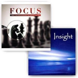「FOCUS CD」「INSIGHT CD」2枚セット - 拡大画像