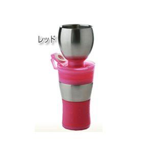 コーヒーメーカーボトル「GAMAGA」 レッド - 拡大画像