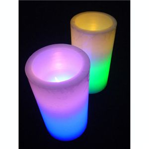 LEDワックスキャンドル【2個セット】