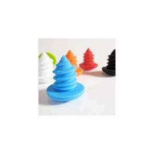 ネジ型ワインボトルストッパー【3個セット オレンジ/ブルー/グリーン】 - 拡大画像