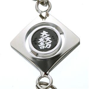 武将タイガーアイストラップ 石田三成(大一大万大吉)