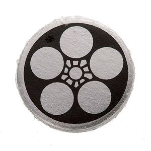 家紋カフス 2/丸に梅鉢