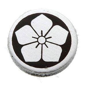 家紋カフス 8/丸に桔梗