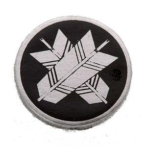 家紋カフス 30/丸に違い矢