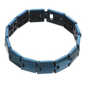 カラーゲルマ50ブレスレット ブルー 205mm