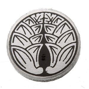家紋つきメガネホルダー 【オニキス】丸に抱き茗荷