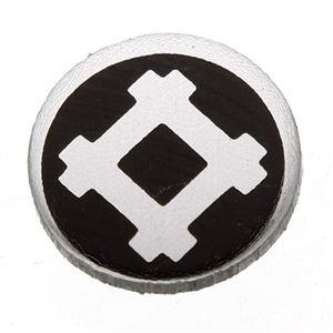 家紋つきメガネホルダー 【オニキス】丸に隅立井筒の紹介画像2