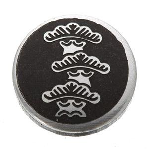 家紋つきメガネホルダー 【オニキス】丸に右三階松の紹介画像2