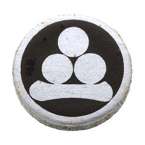 家紋つきメガネホルダー 【貝パール】丸に渡辺星
