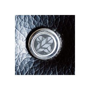 【日本製】家紋付 礼装多機能バッグ (小) 鍵付◆丸に違い丁字 backs-69 h03