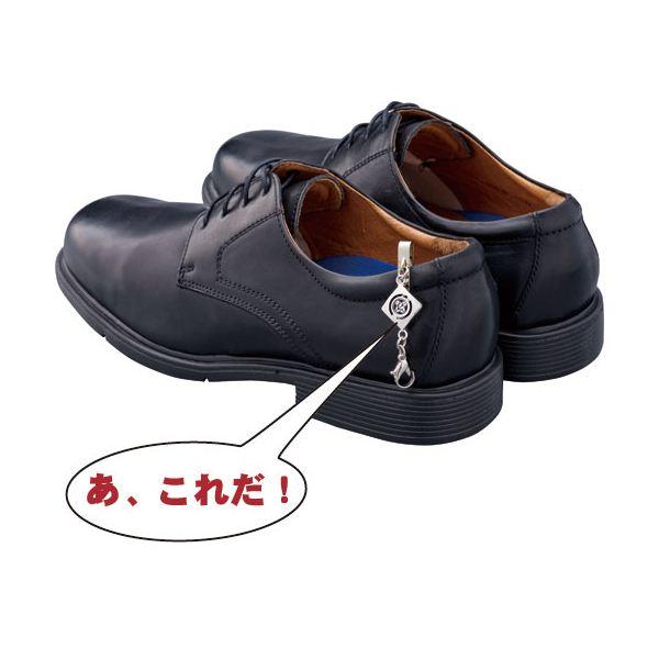 法事用家紋入靴止め&靴べらセット 巾着袋付