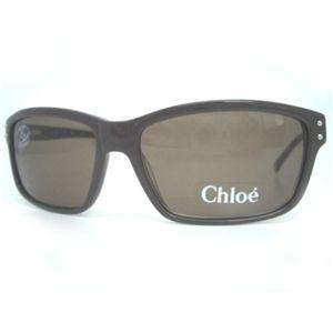 Chloe(クロエ) サングラス CL2176-C02 ブラウン×グレー系ブラウン - 拡大画像