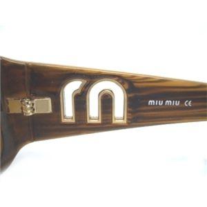 miumiu(ミュウミュウ) サングラス  MU07HS-7PB7J1/ミラーブラウングラデーション×キャラメルブラウン