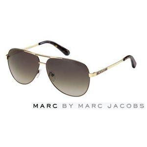 Marc by Marc Jacobs(マーク バイ マークジェイコブス)サングラス MMJ132/S-IOP/CC:ブラウングラデーション×ゴールド