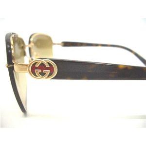 2010年新作モデル GUCCI(グッチ)サングラス GG2863/S-APQ/YY:イエロー系ブラウングラデーション【B】