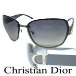 クリスチャン ディオール(Christian Dior) サングラス スモークグラデーション×クリーム系ブルー