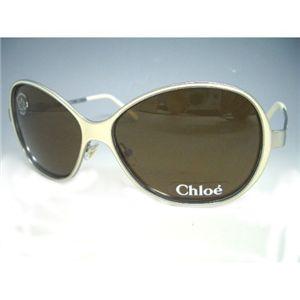 クロエ(Chloe) サングラス CL2142−C04・ブラック×ホワイト