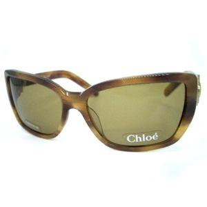 クロエ(Chloe) サングラス CL2172A−C04・カーキ系ブラウン×カーキライトブラウンマーブル