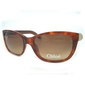 クロエ(Chloe) サングラス CL2175−C02・ブラウングラデーション×ライトブラウンマーブル【B】