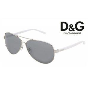 D&G(ディー&ジー) サングラス DD6047-062/6G ミラー×ホワイト - 拡大画像