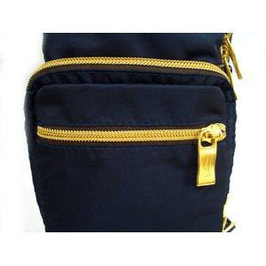 OROBIANCO(オロビアンコ) 縦型ボディバッグ ブラック GIACOMIO★専用袋付き