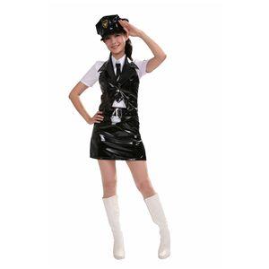 【コスプレ】 ポリスガール 黒 S 4562135686963 - 拡大画像