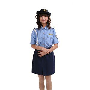 【コスプレ】 夏婦警 水 M 4562135687236 - 拡大画像