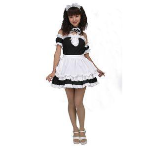 【コスプレ】 美しいメイドさん 黒 M 4571142438267 - 拡大画像