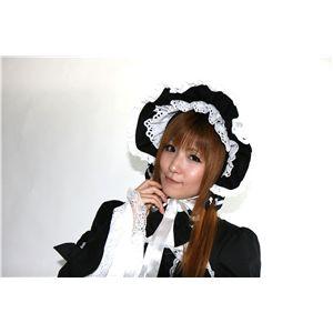 ロリータ帽子 黒