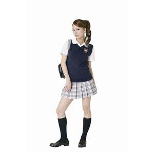 【コスプレ】 トキメキ学園 紺ベストグラフィティ 4571142459620 - 拡大画像