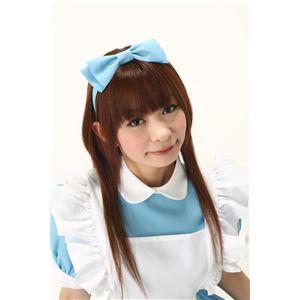 【コスプレ】 Alice'sリボンカチューシャ 水色 4571142457411 - 拡大画像