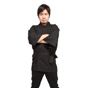 【コスプレ】 祭りだ!はっぴ 黒 4571142464990-3