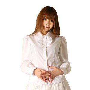 【コスプレ】 Cream doll ブラウス フリルスタンド(ホワイト) 4560320825449 - 拡大画像