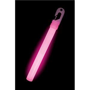 ルミカライト ライトスティック 6インチ<ピンク> 発光体12本入 - 拡大画像