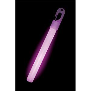 ルミカライト ライトスティック 6インチ<バイオレット> 発光体12本入 - 拡大画像