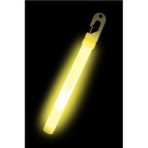 【コスプレ】 ルミカライト ライトスティック 6インチ<イエローハイ> 発光体12本入 4967574350565 - 拡大画像