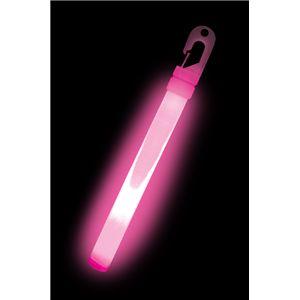 ルミカライト ライトスティック 6インチ<ピンクハイ> 発光体12本入 - 拡大画像