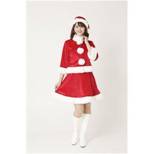 【2010年クリスマスサンタコスプレ】ベイシックサンタ レッド Ladies