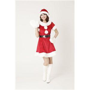 【新作!クリスマス☆コスチューム】キャンディサンタ Ladies