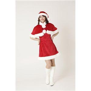 【2010年クリスマスサンタコスプレ】プチケープサンタ Ladies