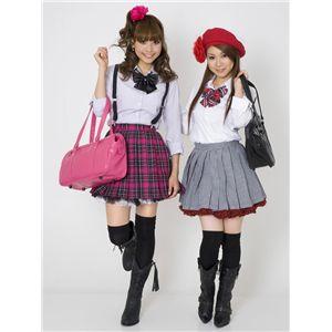【コスプレ】 TE-10AW プリーツスカート(ショッキングピンク×黒×白) M 4560320829546 h02