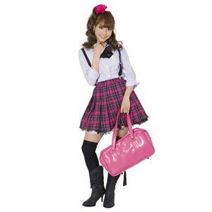 【コスプレ】 TE-10AW プリーツスカート(ショッキングピンク×黒×白) M 4560320829546 h03