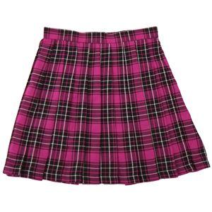 【コスプレ】 TE-10AW プリーツスカート(ショッキングピンク×黒×白) L 4560320829553