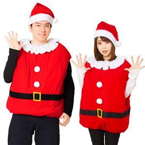 【クリスマスコスプレ 衣装】モコモコサンタ 4560320827627 - 拡大画像