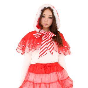 【クリスマスコスプレ】チュチュマント(キャンディーレッド) Ladies 4560320834045 - 拡大画像