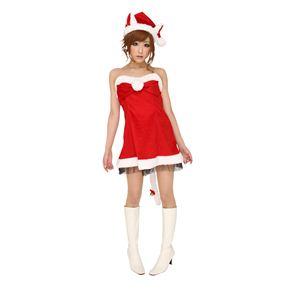 【コスプレ】 クリスマスコスプレ ハーティーキャットサンタ Ladies - 拡大画像